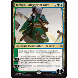 Magic löskort: War of the Spark: Tamiyo, Collector of Tales