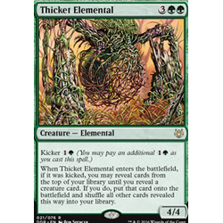 Magic löskort: Duel Decks: Nissa vs Ob Nixilis: Thicket Elemental