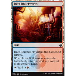 Magic löskort: Guild Kits: Izzet Boilerworks