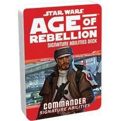 Star Wars: Age of Rebellion: Specialization Deck - Commander Signature Abilities