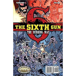 Savage Worlds RPG: The Sixth Gun GM Screen