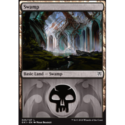 Magic löskort: Guild Kits: Swamp (Dimir)