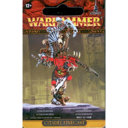 Clan Verminus Skaven Clawlord Queek Headtaker (finecast)