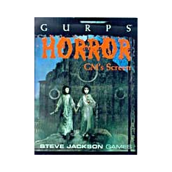 GURPS: Horror GM's Screen (begagnad)