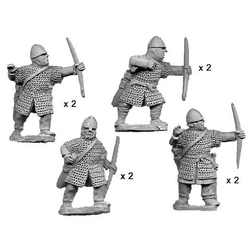 Armoured Norman Bowmen (8)