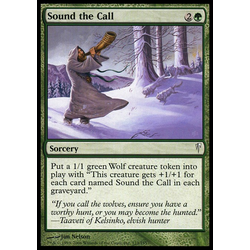 Magic löskort: Coldsnap: Sound the Call
