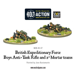 British Expeditionary Force: Anti-tank Rifle & Light Mortar Team