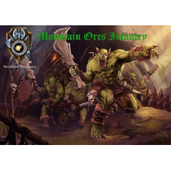 Shieldwolf Miniatures: Mountain Orc Infantry (20)