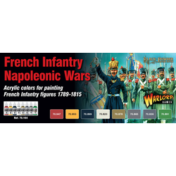 Vallejo Paint Set Napoleonic French