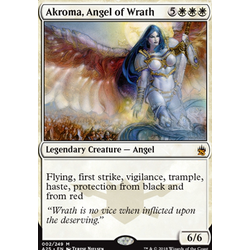 Magic löskort: Masters 25: Akroma, Angel of Wrath