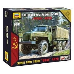 URAL 4320 Russian Army Truck  1/100