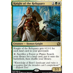 Magic löskort: Iconic Masters: Knight of the Reliquary