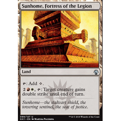 Magic löskort: Guild Kits: Sunhome, Fortress of the Legion