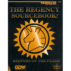 Traveller: The Regency Sourcebook