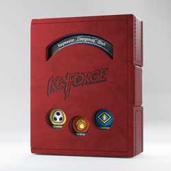 GameGenic Keyforge Deck Book Red