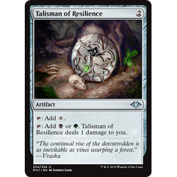 Magic löskort: Modern Horizons: Talisman of Resilience