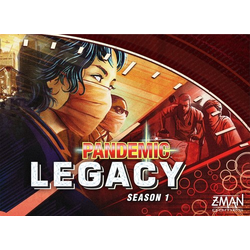 Pandemic Legacy: Season 1 - Red