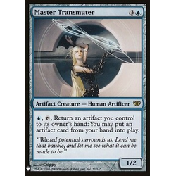 Magic löskort: Mystery Booster: Master Transmuter