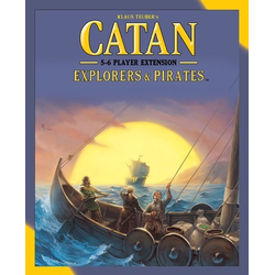 Settlers of catan (5th ed): Explorers & Pirates 5-6 Player extension (eng. regler)