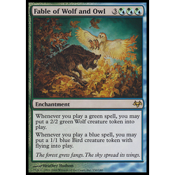Magic löskort: Eventide: Fable of Wolf and Owl