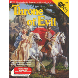 ADD: Role Aids, Throne of Evil (1984)