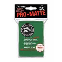 Ultra Pro Deck Protector Sleeves Pro-Matte Green (50)