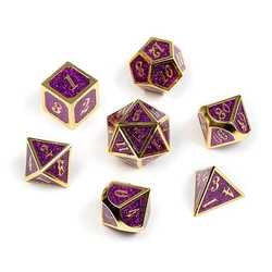 Gold Series: Purple Glitter 7-die set