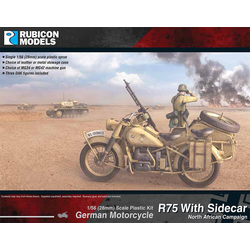 Rubicon: German Motorcycle R75 with Sidecar (DAK)