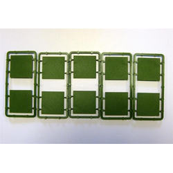 Renedra 40mm square Bases (10)