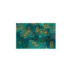 Borealis™ Teal/gold (7-Die set)