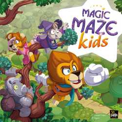 Magic Maze Kids (eng. regler)