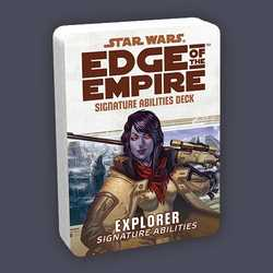 Star Wars: Edge of the Empire: Specialization Deck - Explorer Signature Abilities