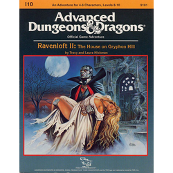 ADD: I10, Ravenloft II: The House on Gryphon Hill (1986)