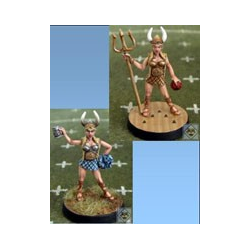 Fantasy Football Amazons - Valkyrie Cheerleader Maude (Impact)