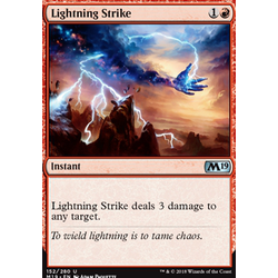 Magic löskort: Core Set 2019: Lightning Strike