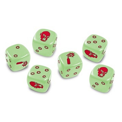 Zombicide: Dice (Glow in the Dark)