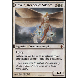 Magic löskort: Rise of the Eldrazi: Linvala, Keeper of Silence