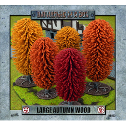 Battlefield in a Box: Large Autumn Wood (5 Large Autumn Trees)