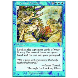 Magic löskort: 7th Edition: Ancestral Memories