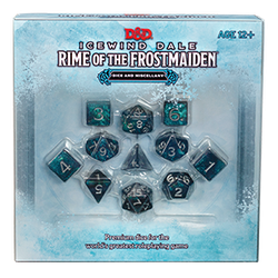 D&D 5.0: Icewind Dale - Rime of the Frostmaiden Dice & Miscellany