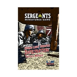 "Sergeants Miniature Game: German Light Infantry ""Infiltration"" Tactics Module"