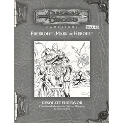 D&D 3.0: Eberron - Desolate Endeavor