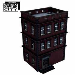 28mm Gothic City - North Point Tenement 2