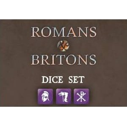 Saga Roman & Briton Faction Dice (8)