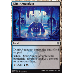 Magic löskort: Guild Kits: Dimir Aqueduct
