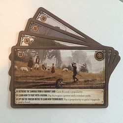 Scythe: Scythe Promo Pack #2 - 4 Promo Encounter Cards