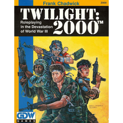 Twilight: 2000, First Ed 1987, Box
