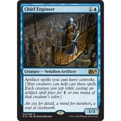 Magic löskort: M15: Chief Engineer