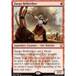 Magic löskort: Dragons of Tarkir: Zurgo Bellstriker (foil)