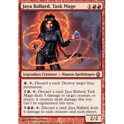 Magic Löskort: Premium Deck - Fire and Lightning: Jaya Ballard, Task Mage (Foil)
